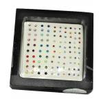 Zahnschmuck Swarovski Elements Color in 3 Grössen 90 Stück